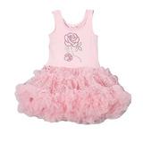 Vestido Nena Importado Danza Bailarina - Talle S(9a24 Meses)