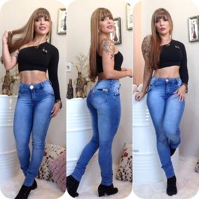 Kit 3 Calças Jeans Feminina Hot Pants Empina Bumbum + Frete