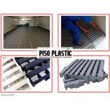 Pisos Plastico / Estrado - Preto 40x40 P/caminhão E Furgão