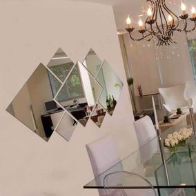 Espelho Decorativo Grande 100 Cm X 56 Cm Montado Sala Quarto