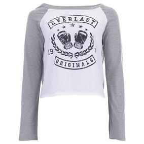 Blusas Camisetas Femininas Cinza Mescla Estampa Frontal - Calçados ... 9a5801ad9cda5
