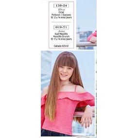 Blusa Juvenul Manga 3/4 159-54 Cklass