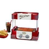 Maquina De Cachorro Quente Nostalgia Rhd-800 Hot Dog Roller