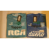 Nueva Camiseta Racing Topper Alternativa Niño 15/16
