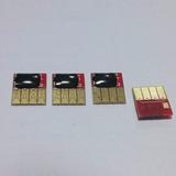 4 Chip Full Hp Designjet T120 T520 E-printer Hp 711