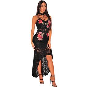 Vestidos de fiesta de flores