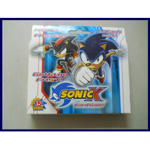 Sonic X Juego De Cartas Coleccionable