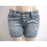 Shorts Jeans Curto For Girls Tam 36 Bom Estado