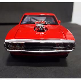 Miniatura Carros Dodge Charger 1970 Metal 1:32