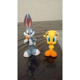 Set Tweety Y Bugs Bunny Con Sonido Y Movimiento Nuevos