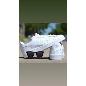 Zapatillas adidas Superstar Hombreymujer $×2 Pares