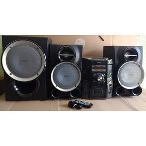 Mini System Hi-fi Fwm613 Philips 600w Rms Mp3 Subwofer