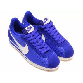Tênis Nike Cortez Classic Txt Lifestyle Chicano Lowride Blue