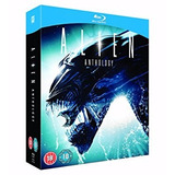 Blu-ray - Alien Anthology - Coleção Com Os 4 Filmes