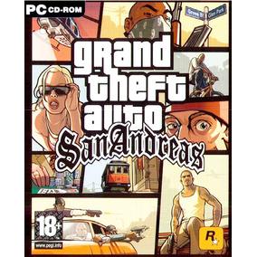 Gta San Andreas Pc - Edição 10° Aniversário - Dvd-rom