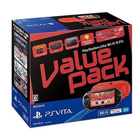 Negro Sony Ordenador Playstation Vita Value Pack Modelo Wi-