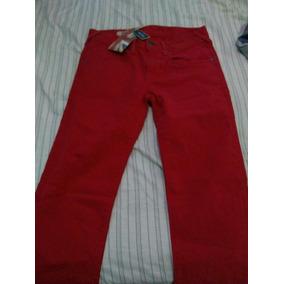 Pantalón Pepe Jeans Rojo Nuevo Para Hombre Talla 28
