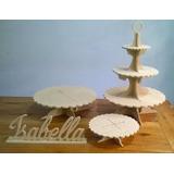 Candy Bar X4 Fibrofacil. Super Oferta! Torre Cup Cakes Y Mas