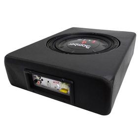 Caixa Slim Bomber Sub 10 C/ Amplificador Corzus + Cabo Rca
