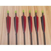 12 Flechas Para Arco