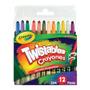12 Mini Crayones Twistables 8 Piez Cra-cra-520712