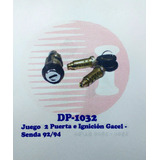 Juego Ignición+2 Cerraduras De Puerta Volkswagen Senda 92/94