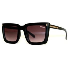 Oculos Prada Baroque Quadrado Preto - Óculos De Sol no Mercado Livre ... 77b7cf4d08