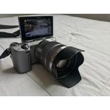 Sony Nex-5r 16.1mp Con Opturador 18-55 32gb Estuche Flash