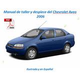 Chevrolet Aveo Manual De Taller Y Despiece (español)
