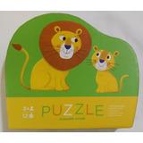 Puzzle 12 Piezas Grandes Rompecabezas Pequeño León +3 Años