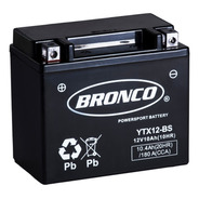 Bateria Moto Ytx12-bs Bronco Gel  Motoscba S