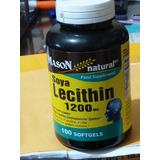 Lecitina De Soya 1200 Mg *100 Softgel