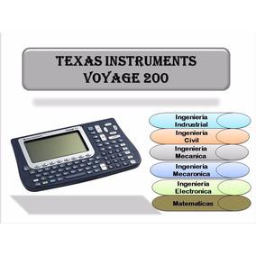 Calculadora Texas Instruments Voyage 200 Ing
