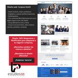 Plantilla Web Profesional ( Corporate Ve ) Certificada