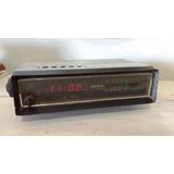 Antigo Relógio Despertador Rádio Semp Funcionando