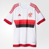 Camisa Flamengo Branca adidas 2015 Original