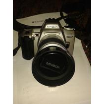 Camara Fotografica Minolta Dinax 500si Con Lente Y Bolso