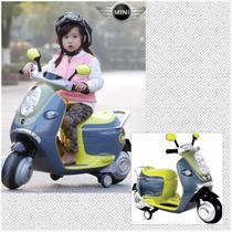 Moto Eléctrica Scooter Mini Cooper Regalo Día Del Niño