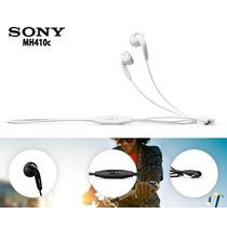 Manos Libres Originales Sony Xperia J, L, M, ,z, Z1 Mh-410c