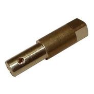 Vastago 8mm Bronce  Semi Industrial C/cuadrado