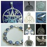 Colgantes - Medallas - Talismanes- Tetragrammaton - Runas