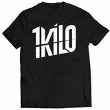 Camisa Camiseta Banda 1kilo De Rap Musica Hiphop Brasil Top