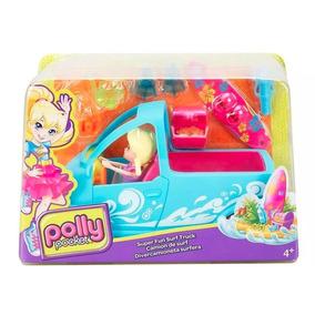 Polly Pocket Camioneta Surf Playa Original Mattel Nuevo