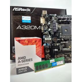 Combo Actualizacion Amd Apu A6 9500 + Asrock A320-hdv + 4gb