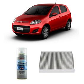 Kit Filtro Ar Condicionado + Higienizador Uno Grand Siena