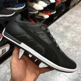 Tenis Puma Hombre Pilot Negro 304982-01 Look Trendy