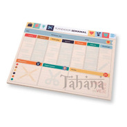 Planeador Organizador Agenda Semanal