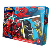 Puzzle 240 Piezas Disney Rompecabezas Juego Spiderman Marvel