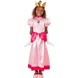 Childs Video Game Plumber Princess Costume