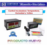 Control Incubadora Temperatura Humedad Volteo 220v